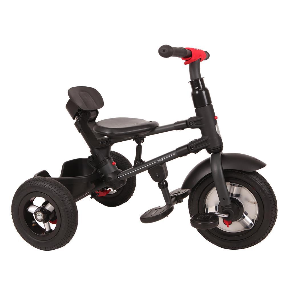 Tricicleta Cu Roti Gonflabile De Cauciuc Qplay Rito Air Albastru Deschis [9]