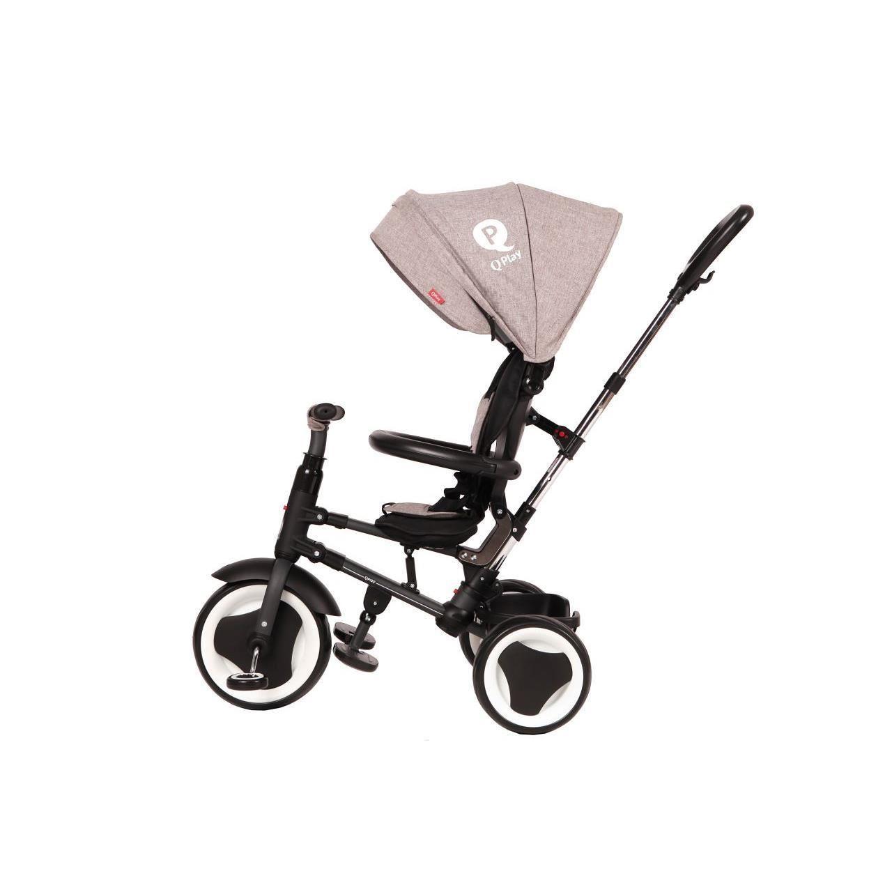 Tricicleta Pliabila Pentru Copii Qplay Rito Albastru Inchis [11]