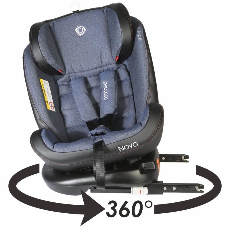 Scaun auto rotativ cu Isofix grupa 0-36 kg Nova Jeans [32]