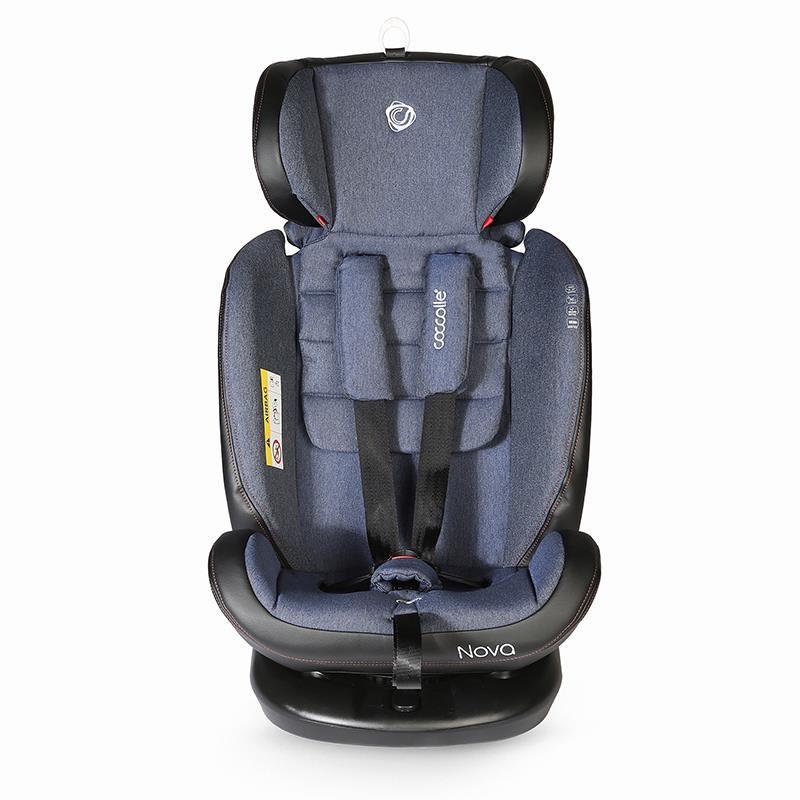 Scaun auto rotativ cu Isofix grupa 0-36 kg Nova Jeans [38]