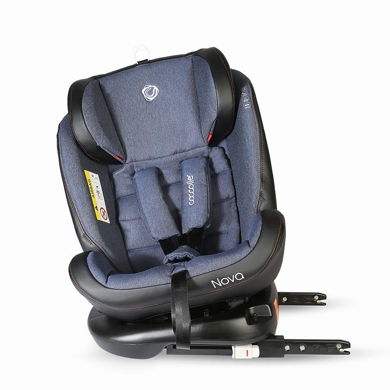 Scaun auto rotativ cu Isofix grupa 0-36 kg Nova Jeans [41]