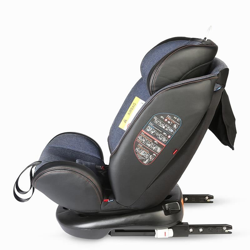 Scaun auto rotativ cu Isofix grupa 0-36 kg Nova Jeans [42]